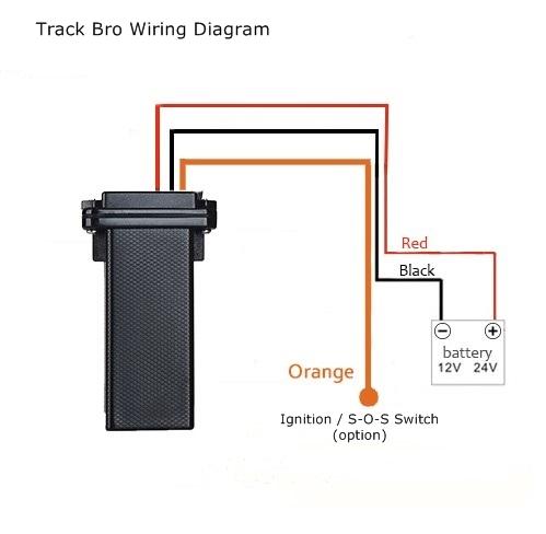 track bro motorbike and vehicle gps tracker rh nortek co uk  gps tracking device wiring diagram